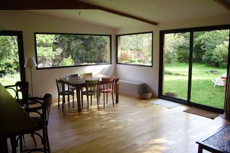 Maison extension bois sur la rivière du Trieux - Plouëc-du-Trieux - Σπίτι