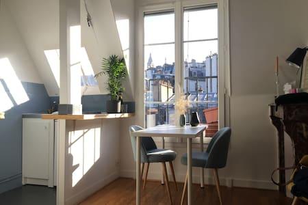 Pleasant apartment with 1 bedroom in Montmartre - Paris