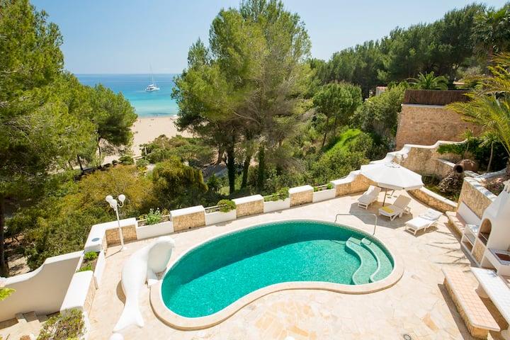 Seafront & Beach front Villa Ibiza