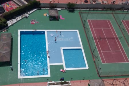 appartement tout confort , vue sur mer et piscine - Wohnung