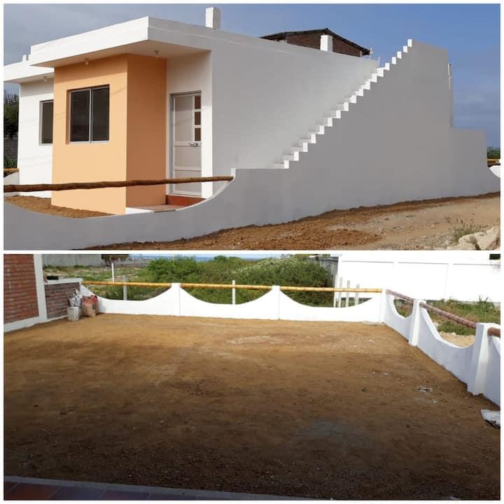 Casa a 100 m. de la playa,  Data Villamil Km 11.5