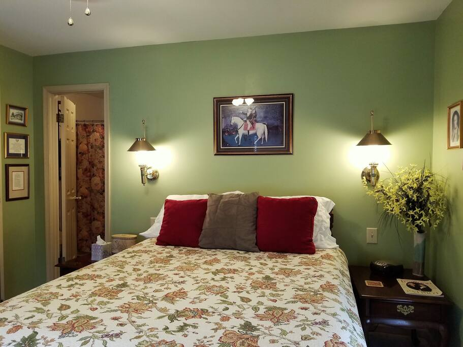 Lewis Room is very cozy & located on the 2nd floor