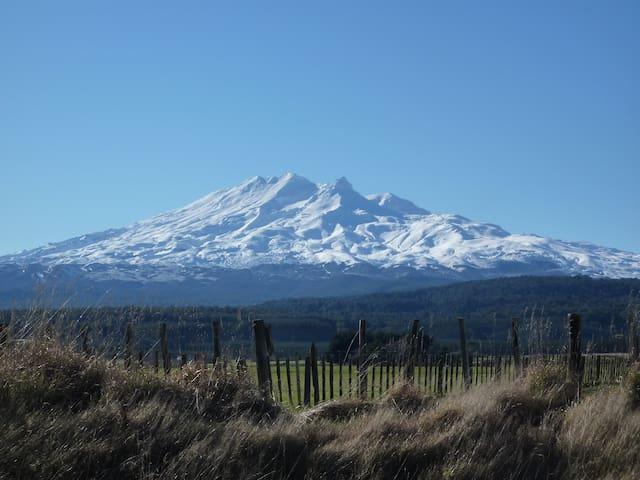 Majestic Mt Ruapehu