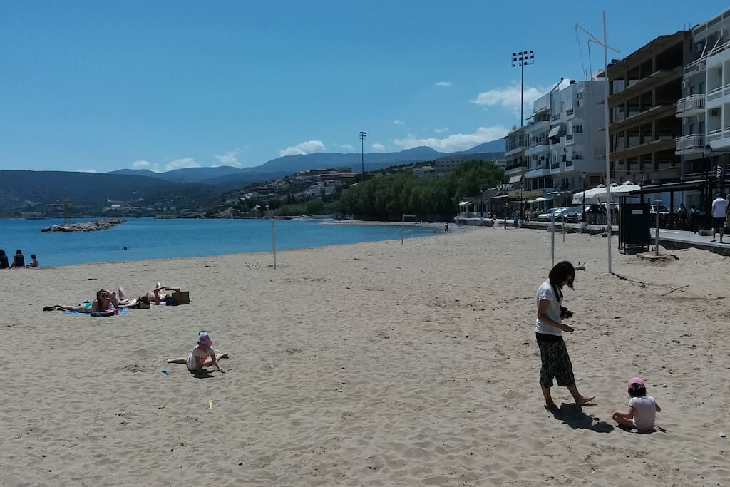Beach 50 meters  from apartment