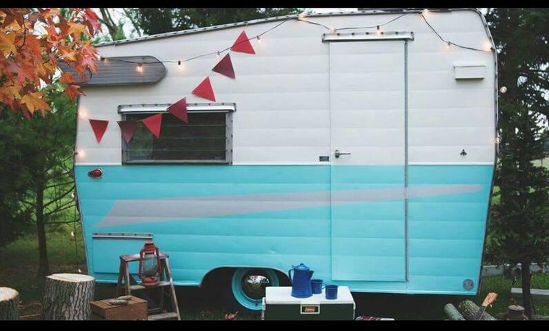 Cozy Camping / Glamping / Near LBI / Beach - Stafford Township - Lakókocsi/lakóautó