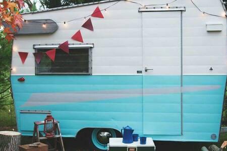 Cozy Camping / Glamping / Near LBI / Beach - Stafford Township - Wohnwagen/Wohnmobil