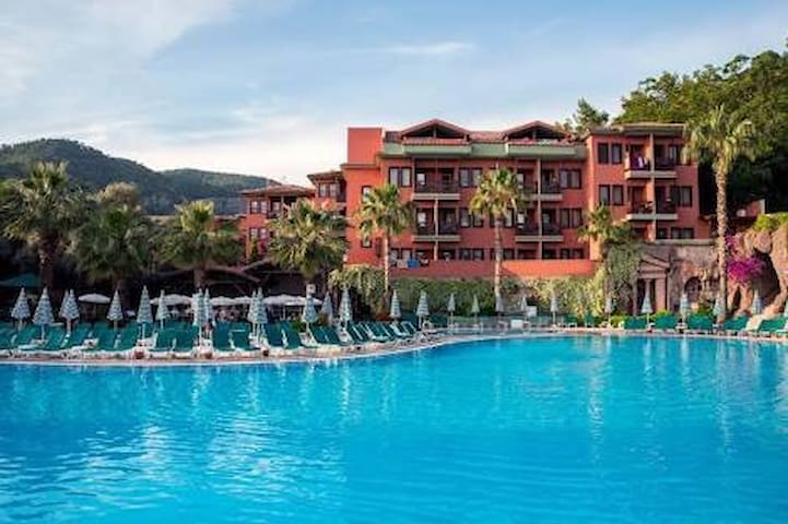 Suncity Bunkbed Family Room - All Inclusive - Fethiye