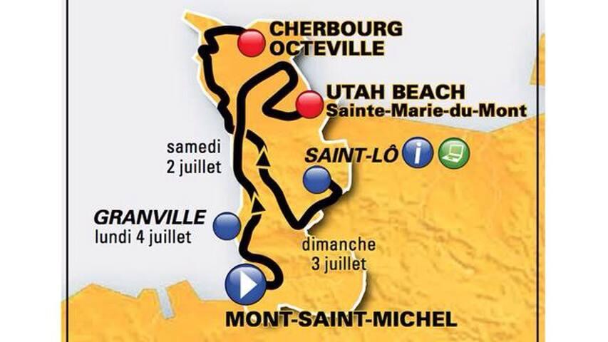 Studio ST-LO aux départ Tour de Fr - Saint-Lô - Apartmen