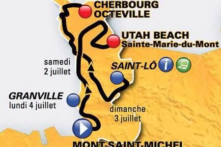 Studio ST-LO aux départ Tour de Fr - Saint-Lô
