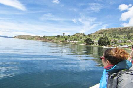 lake titicaca - homestay en luquina