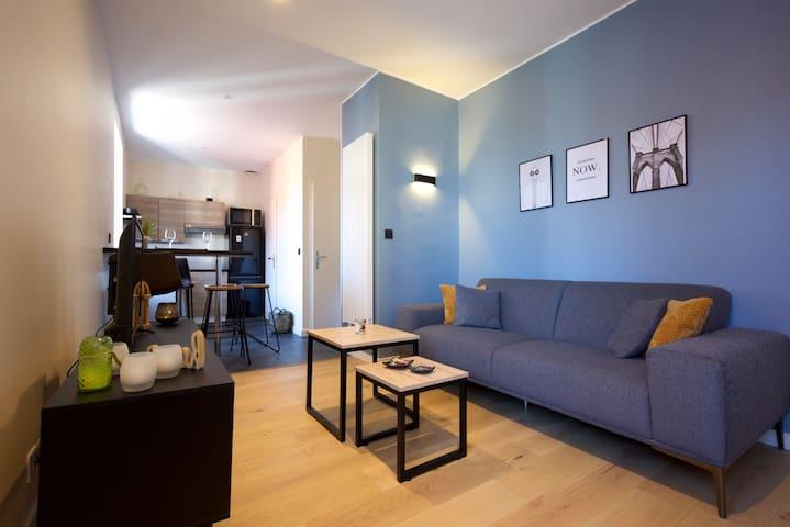 Petit appartement cosy proche de Lyon