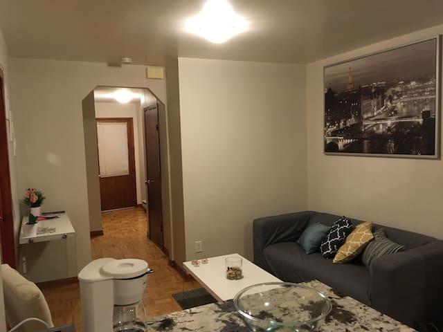 Appartement excellent emplacement!