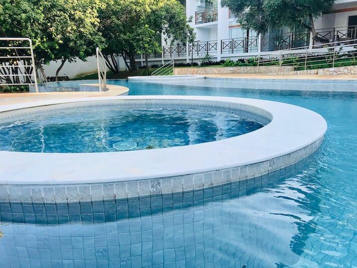 Apaixone-se por Pipa Apto Novo com piscinas!