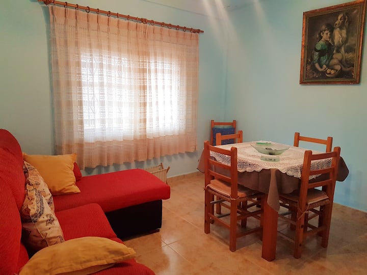 House with 2 bedrooms in Cañaveras, with wonderful mountain view and terrace