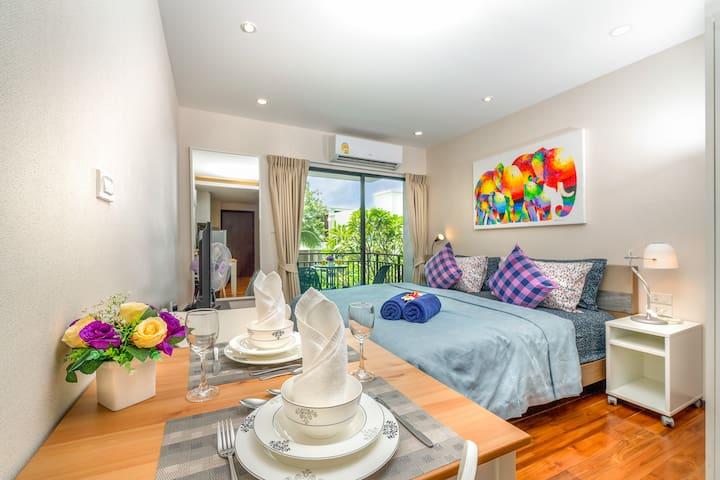 Beautiful & Cozy Apartment @Rawai beachfront - 50m