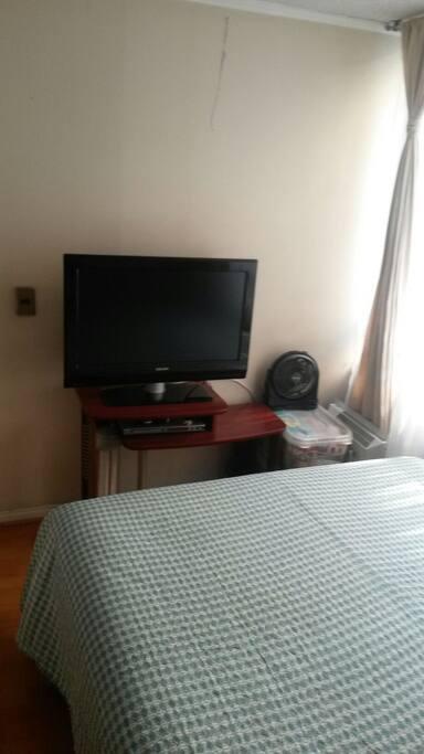 Tv Cable en el dormitorio
