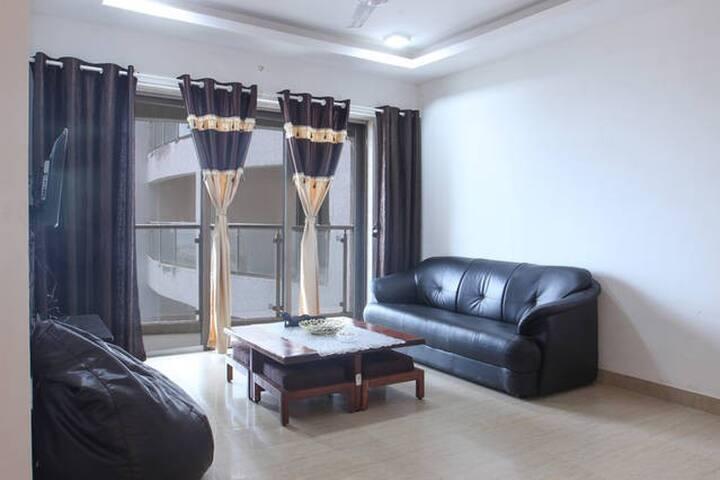 Accommodation for Girls with sea view Andheri w - Mumbai - Wohnung
