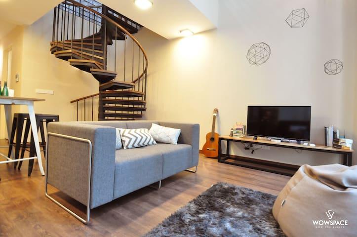 Wowspace @ Riverson 5.0 Duplex 舒适豪华复式公寓