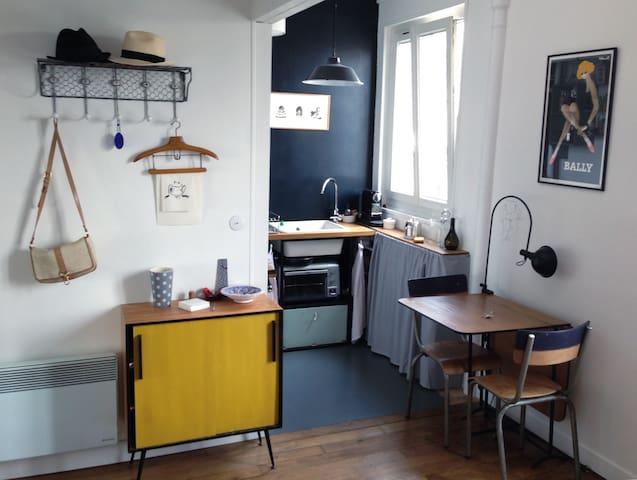 Charmant studio sous les toits - Paris - Lägenhet