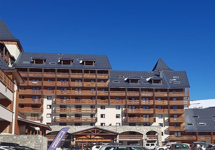 la résidence Les balcons du soleil