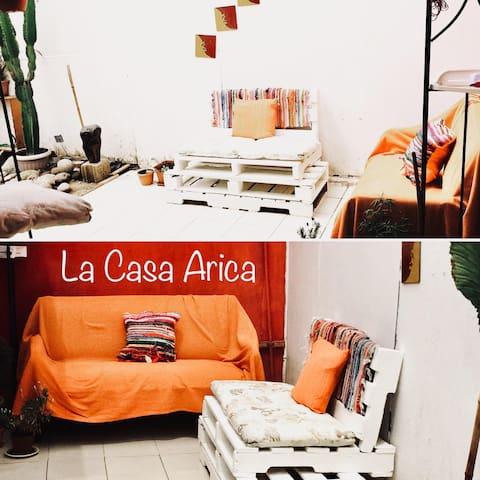 """La Casa Arica"" casa acogedora full equipada"