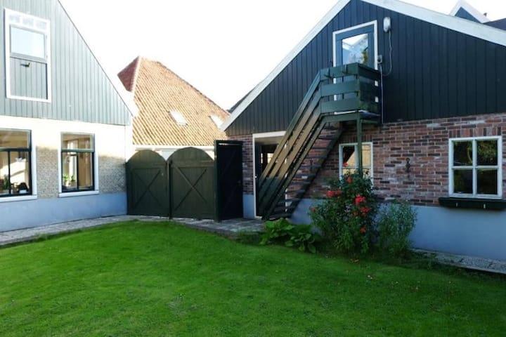 Gezellig appartement met tuin in hartje Opperdoes