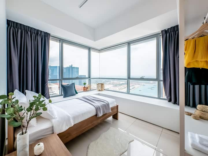 Stylish 2 Bedroom Apartment in Lumiere