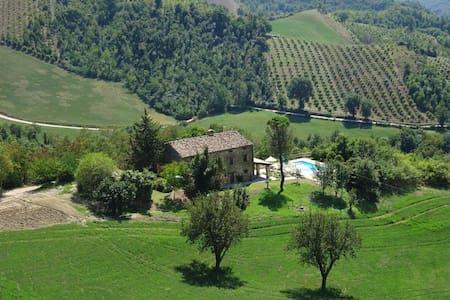 Ca La Piera, Pesaro e Urbino, tranquil manor house - Villa