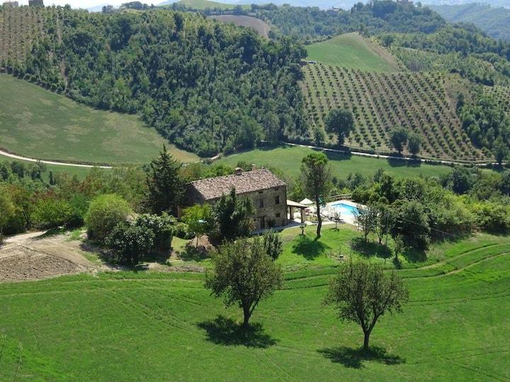 Ca La Piera, Pesaro e Urbino, tranquil manor house