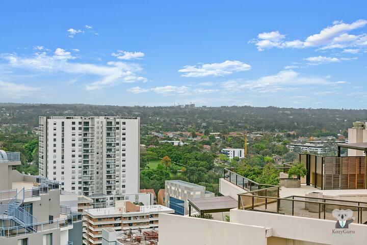 KOZYGURU | Parramatta CBD | Luxury 2 Bed APT + Free Parking | NPA011