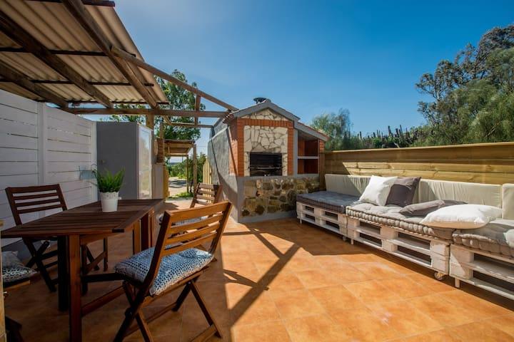 Bonita casa cerca de la playa de Valdevaqueros,