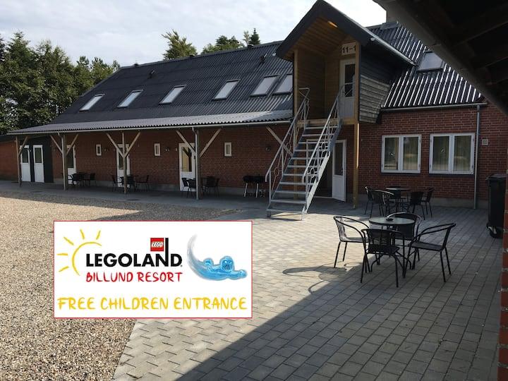 5 person apartment - Close to LEGOLAND