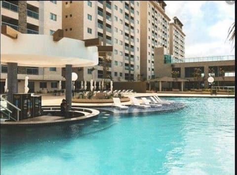 Salinas Park Resort Apartamento para família