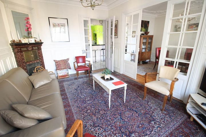 CHIC & SPACIOUS APARTMENT - CLOSE TO EIFFEL TOWER - Paris - Apartamento