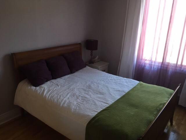 Belle chambre tranquille et sympathique : Villeray