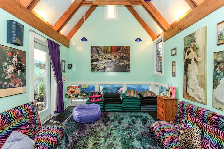 Zilker Park, Fun, Funky, Colorful, Peaceful Haven - Austin - Guesthouse