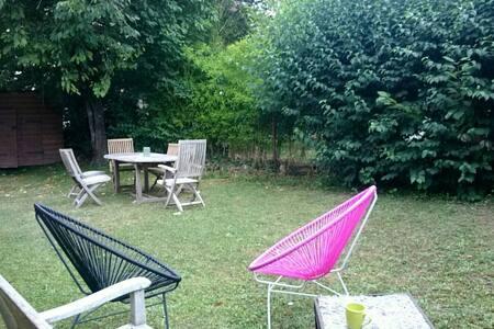 Chambre au calme avec jardin a Mornex - Monnetier-Mornex - Byt