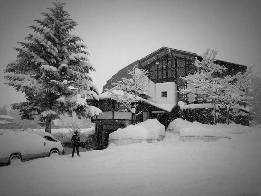 The Phat House in winter