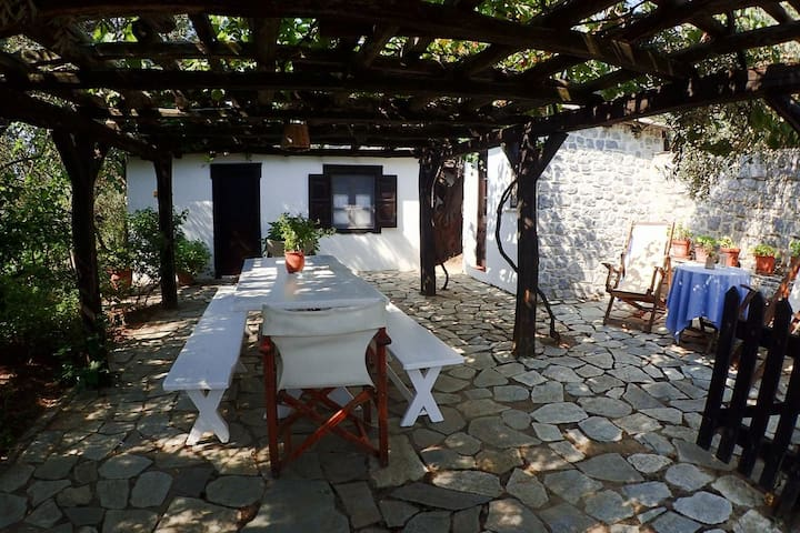 Stone House in Traditional Olive Grove