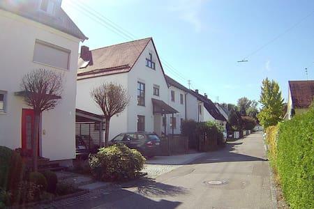 Helle Studiowohnung in Stadt- und Waldnähe - Augsburg - Diğer