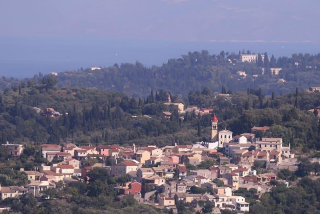 View of Varipatades Village