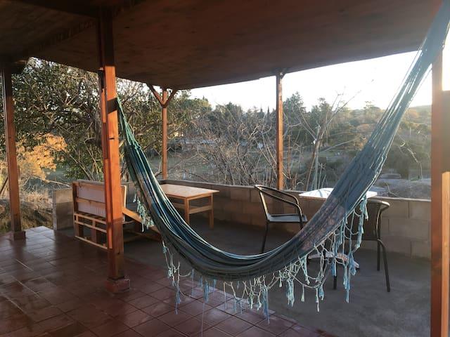 Una cabaña con vistas x 2 en Tanti