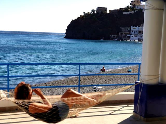 Seaside cozy house ON THE SEA° south crete
