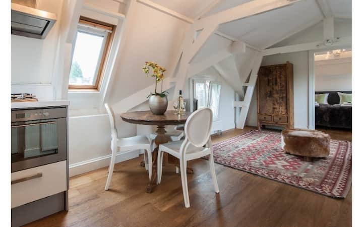 1-Bedroom Attic Apt close to Vondelpark!