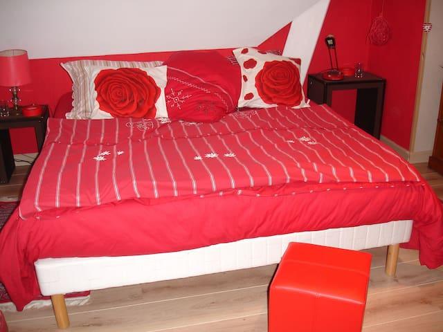 Chambre chez l'habitant - La Barre-de-Semilly - Apartment