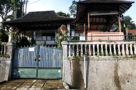 Mountain view house 2BR, Nice View - Cisarua