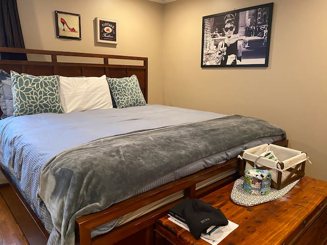 Work from home, private room  and king bed
