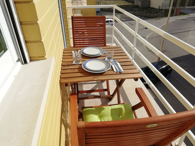 Enjoy your meal in our sunny balcony: start your day with a smile :)