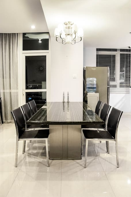 Your dining table