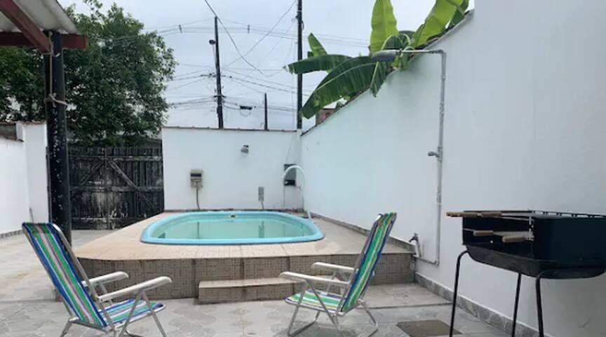 Enseada- Guarujá - casa 3 suítes - piscina